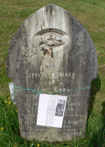 John & Jane Cope Headstone